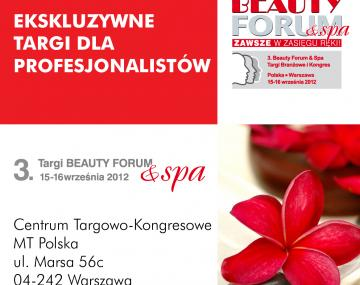 Targi BEAUTY FORUM&SPA 15-16.09.2012