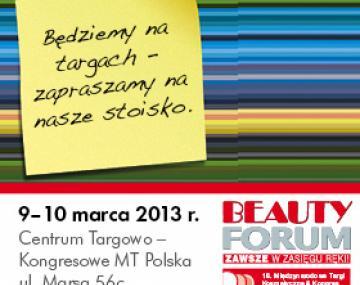 Targi BEAUTY FORUM&SPA 9-10.03.2013