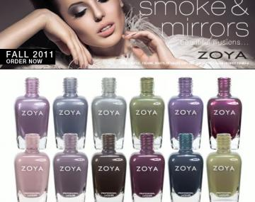 Kolekcja SMOKE&MIRRORS jesień 2011