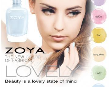 ZOYA LOVELY - nowa kolekcja wiosna 2013