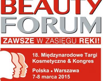 TARGI BEAUTY FORUM - 7-8 marca 2015